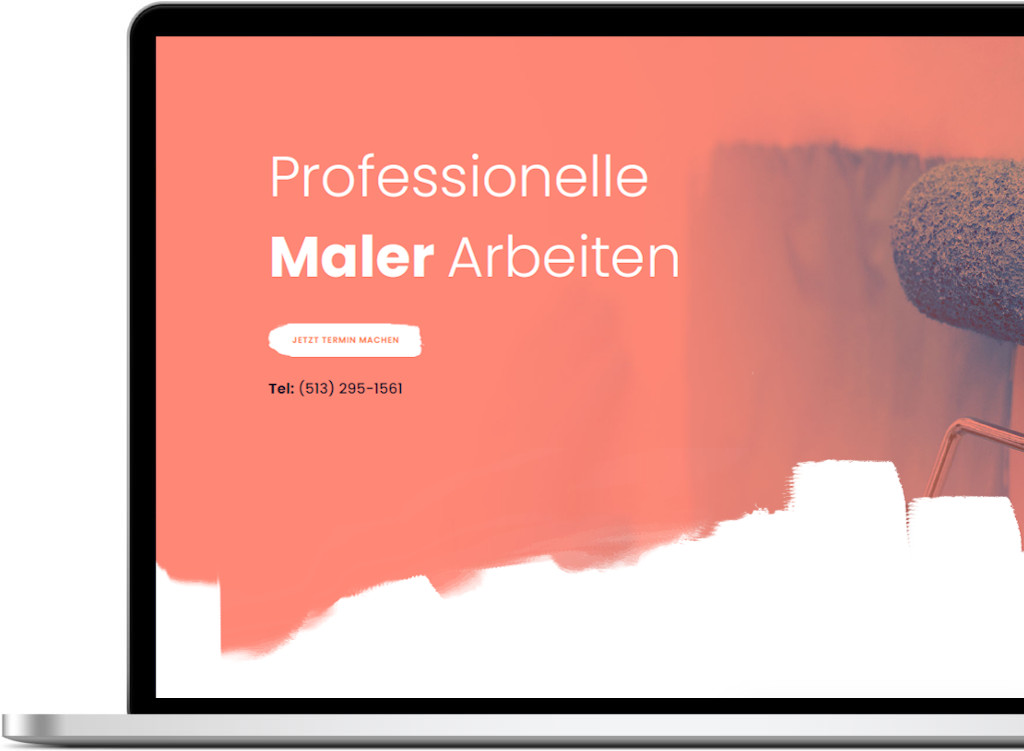 Ahvi, Maler, Demo, Webdesign, Webseite, Homepage, Mediengestaltung