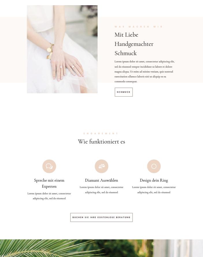 Ahvi, Demo, Schmuckseite, Slider, Webseite, Homepage
